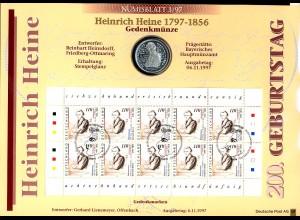 1962 Heine 2. Auflage Numisblatt 3/97 - ohne Runen