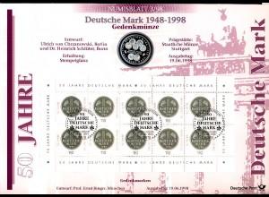 1996 Deutsche Mark - Numisblatt 3/1998