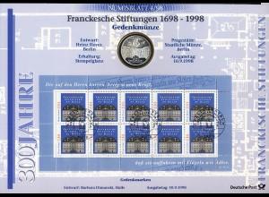 2011 Franckesche Stiftung - Numisblatt 4/98