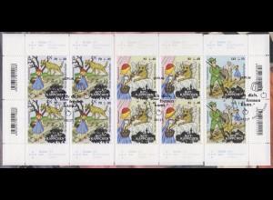 3208-3210 Grimms Märchen: Rotkäppchen - Satz auf Kartonvorlage, ESST