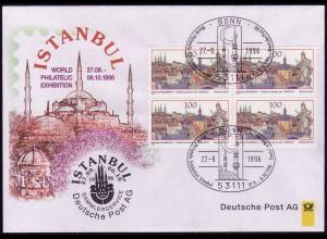 Ausstellungsbeleg Nr. 16 WORLD Istanbul 1996
