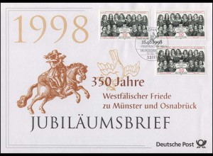 1979 Westfälischer Friede zu Münster und Osnabrück 1998 - Jubiläumsbrief