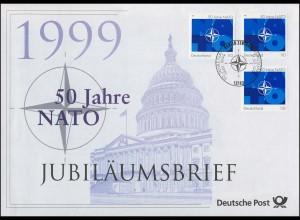 2039 50 Jahre NATO 1999 - Jubiläumsbrief