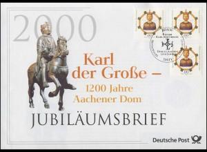 2088 Aachener Dom 2000 - Jubiläumsbrief