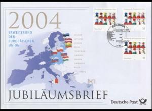 2400 Erweiterung der Europäischen Union 2004 - Jubiläumsbrief