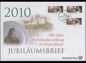 2805 Friedrich Böttcher & Porzellanherstellung 2010 - Jubiläumsbrief
