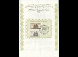 BDPh-Jahresgabe 1983 Einwanderung Deutsche in Amerika