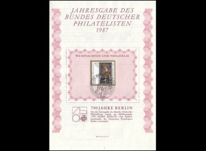 BDPh-Jahresgabe 1987 Berlin Weihnachten