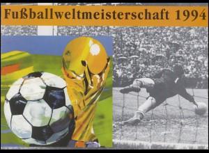 1718 Fußball-WM 1994 - Erinnerungsblatt EB 1/94