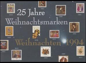 1770-1771 Weihnachten 1994 [EB 2/1994] mit Grußwort Bundespräsident Herzog