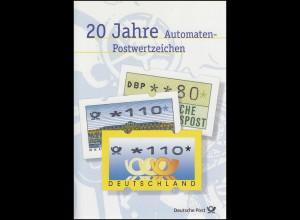 3. ATM Postemblem 1999: 20 Jahre Automaten-Postwertzeichen EB 6/1999