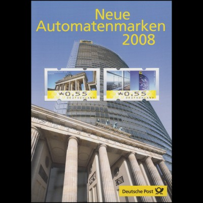 6-7 ATM Automatenmaken Brandenburger Tor & Post Tower - EB 5/2008