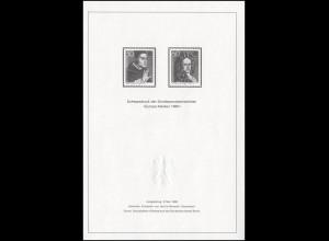 Schwarzdruck aus JB 1980 Europa / CEPT SD 6
