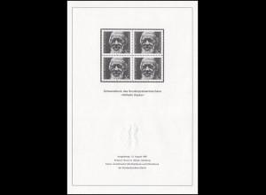 Schwarzdruck aus JB 1981 Wilhelm Raabe SD 7