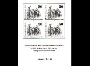 Schwarzdruck aus JB 1982 Berlin Salzburger Emigranten