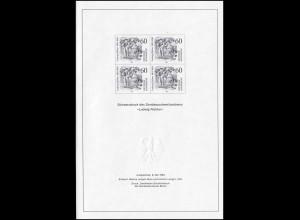 Schwarzdruck aus JB 1984 Ludwig Richter SD 9