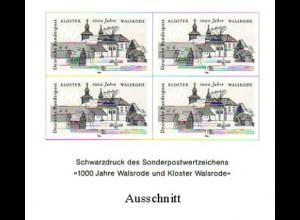 Schwarzdruck aus JB 1986 Walsrode und Kloster Walsrode