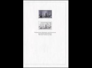 Schwarzdruck aus JB 1994 Frankfurt/Main mit Hologramm SD 17