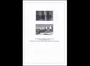 Schwarzdruck aus JB 1999 Block 47 Europa Berchtesgaden mit Hologramm SD 22