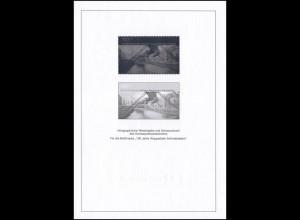 Schwarzdruck aus JB 2001 Wuppertaler Schwebebahn, mit Hologramm SD 24