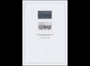 Schwarzdruck aus JB 2013 Sonnentempel Bayreuth & Hologramm SD 36