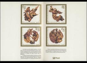 Jahresgabe der Post Weihnachten 1989, ohne Marke