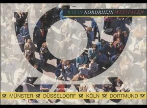 Wappen der Länder: Nordrhein-Westfalen, ESSt Düsseldorf 1993