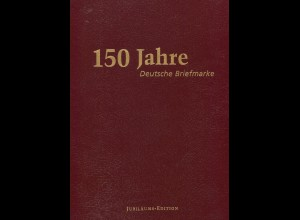 Buch-Edition im Schuber: 150 Jahre Deutsche Briefmarken Band I+II+III, 1999