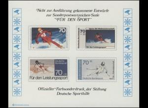 Sporthilfe Sonderdruck Ski-WM 1978