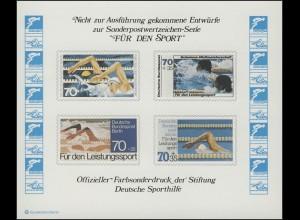 Sporthilfe Sonderdruck Schwimm-WM 1978