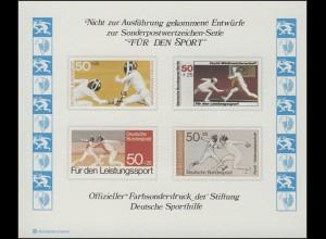 Sporthilfe Sonderdruck Fecht-WM 1978