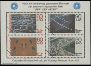 Sporthilfe Sonderdruck Bund und Berlin I 1981