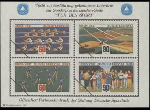 Sporthilfe Sonderdruck Bund und Berlin II 1981