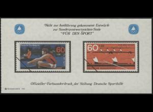Sporthilfe Sonderdruck aus Bund-MH Rudern 1981