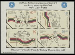 Sporthilfe Sonderdruck I Breitensport Dauerlauf Bogenschießen 1982