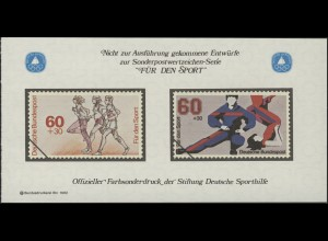 Sporthilfe Sonderdruck aus Bund-MH Dauerlauf und Gymnastik 1982