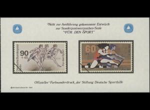 Sporthilfe Sonderdruck aus Berlin-MH Hürdenlauf 1982