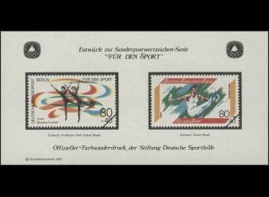 Sporthilfe Sonderdruck aus Berlin-MH Deutsches Turnerfest 1987