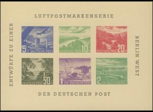 Berlin-Sonderdruck BEPHILA 1957 Block 1 Nachdruck