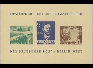Berlin-Sonderdruck BEPHILA 1957 Block 2 Nachdruck