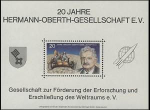 Sonderdruck 20 Jahre Hermann-Oberth-Gesellschaft 1972
