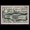 942 Europarat Straßburg 1952, Marke postfrisch **