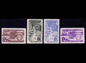 1391-1394 Europarat 1954 Türkei, Satz postfrisch **