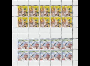 1997 Moldawien 236-237 Sagen und Legenden, Kleinbogen-Satz ** postfrisch