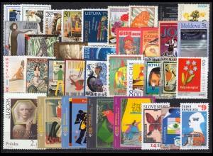 Gemeinschaft / CEPT / Europa 2003 Jahrgang 60 Ausgaben komplett **