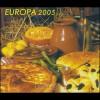 2005 Bulgarien 4704C-4705C Gastronomie, Markenheftchen 4 ** postfrisch
