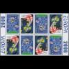 2006 Georgien 515D-516D Integration, Heftchenblatt ** postfrisch