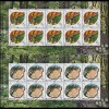 2011 Moldawien 749-750 Der Wald: Hirsch und Uhu, Kleinbogen-Satz ** postfrisch