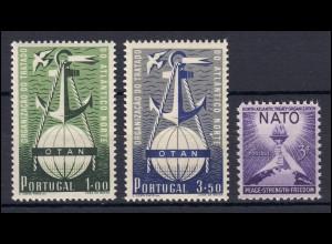 Europa NATO-Ausgaben Jahrgang 1952, zwei Ausgaben, ** postfrisch