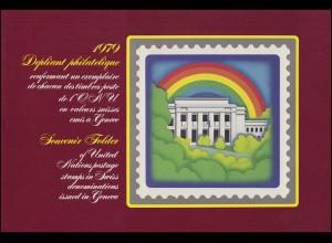 UNO Genf Jahressammelmappe 1979, postfrisch **